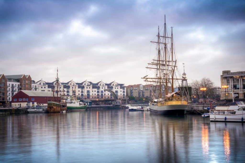 Bristol habour port