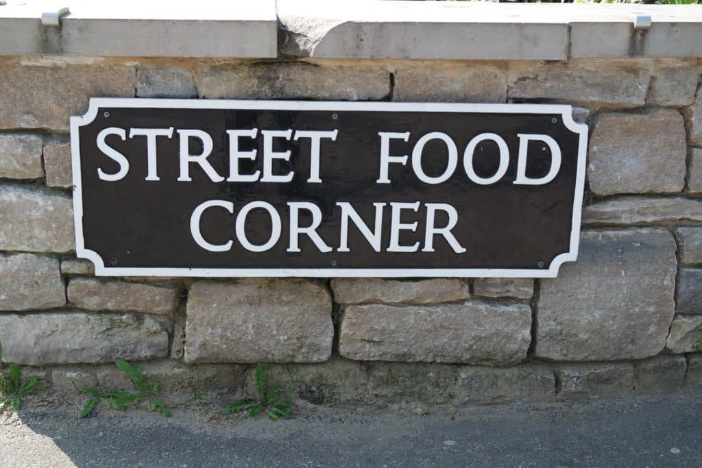 Bournemouth Street food corner