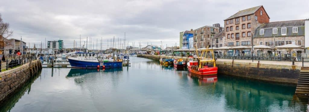 Barbican in Plymouth, Devon